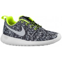 Nike Roshe One Damen Sportschuhe Cool Grau/Volt/Schwarz/Wolf Grau