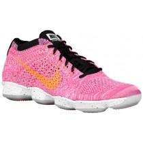 Nike Flyknit Zoom Agility Rosa Pow/Schwarz/Sport Fuchsie/Hell Zitrusfrucht Damen Sportschuhe
