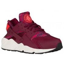 Nike Air Huarache Camo Print Damen Tennisschuhe Dunkel Granat/Hell Crimson