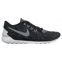 Nike Free 5.0 2015 Solstice Schwarz/Rein Platin/Reflektierend Silber Damen Runningschuh