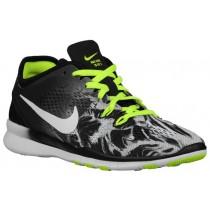 Nike Free 5.0 Tr Fit 5 Marble Print Schwarz/Volt/Weiß Damen Sports