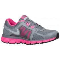 Damen Nike Dual Fusion St2 Cool Grau/Wüste Rosa/Metallic Silber Laufschuhe