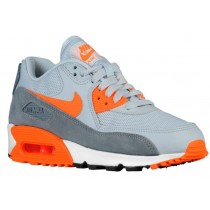 Nike Air Max 90 Essential Rein Platin/Cool Grau/Summit Weiß/Gesamt Orange Damen Sneakers