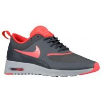 Damen Nike Air Max Thea Dunkel Grau/Rein Platin/Hyper Punch Turnschuhe