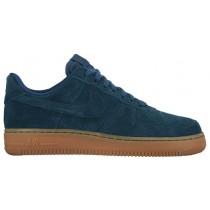 Nike Air Force 1 '07 Mid Suede Blau/Grün Damen Sneakers