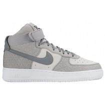 Damen Nike Air Force 1 High Premium Suede Matte Silber/Deutlich Grau/Rein Platin Sportschuheschuhe