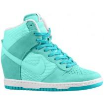 Nike Dunk Sky Hi Essential/Wedge Damen Schuhschaft Artisan Knickente/Licht Retro/Weiß