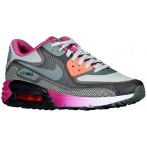 Nike Air Max 90 Comfort Schwarz/Dunkel Mica Grün/Hell Magenta/Sea Spray Damen Running Schuhe