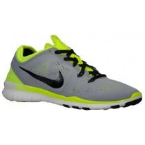 Nike Free 5.0 Tr Fit 5 Damen Laufschuhe Wolf Grau/Volt/Schwarz