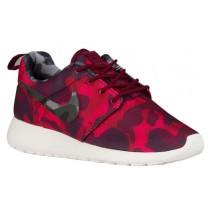 Damen Nike Roshe One Camo Print Dunkel Granat/Schwarz/Gym Rot/Very Berry Sneakers