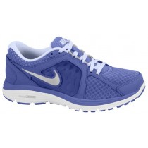 Nike Dual Fusion Run Breathe Damen Running Schuhe Violett Force/Metallic Silber/Palest Perle