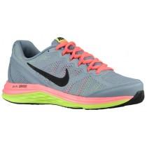 Nike Dual Fusion Run 3 Damen Trainingsschuhe Magnet Grau/Hyper Punch/Volt/Schwarz