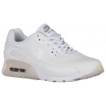 Nike Air Max 90 Ultra Essentials Weiß/Metallic Silber Damen Turnschuhe