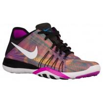 Nike Free Tr 6 Damen Laufschuh Schwarz/Weiß/Hyper Violett/Foto Blau