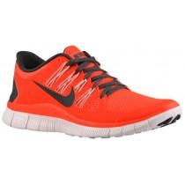 Nike Free 5.0+ Gesamt Crimson/Licht Blau/Pearl Rosa Damen Laufschuhe