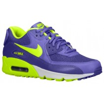 Nike Air Max 90 Perle Haze/Hyper Traube/Summit Weiß/Volt Damen Sneakers