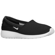 Nike Roshe One Slip Schwarz/Geranium/Licht Base Grau/Weiß Damen Sportschuhe