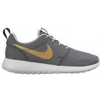 Damen Nike Roshe One Anthrazit/Metallic Gold/Wolf Grau/Rein Platin Sneakers