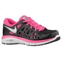 Nike Dual Fusion Run 2 Damen Schuhschaft Schwarz/Waffenkammer Schiefer/Rosa Folie/Metallic Silber