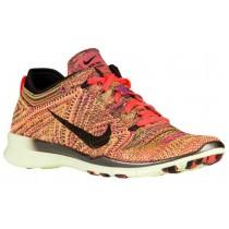 Nike Free Tr 5 Flyknit Hyper Orange/Schwarz/Volt Damen Trainingsschuhe