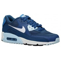 Nike Air Max 90 Essential Blau Force/Weiß/Eis Würfel Blau/Licht Blau Lackierung Damen Sneakers