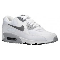Nike Air Max 90 Essential Weiß/Wolf Grau/Schwarz/Cool Grau Damen Turnschuhe