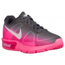 Nike Air Max Sequent Hyper Rosa/Metallic Dunkel Grau/Weiß Damen Sneakers