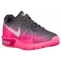 Nike Air Max Sequent Hyper Rosa/Metallic Dunkel Grau/Weiß Damen Sneakers