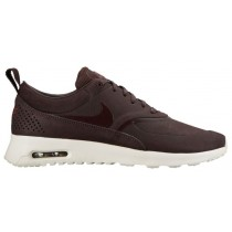 Nike Air Max Thea Premium Mahagoni/Team Rot/Sail/Mahagoni Damen Running Schuhe