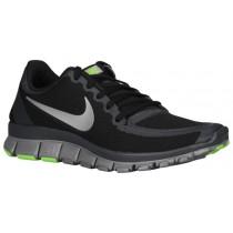 Nike Free 5.0 V4 Schwarz/Grau Damenschuhe