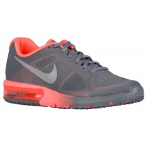 Damen Nike Air Max Sequent Cool Grau/Hell Mango/Metallic Silber Laufschuh