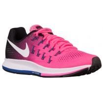 Nike Air Zoom Pegasus 33 Damenschuhe Rosa Blast/Schwarz/Dunkel Perle Staub/Weiß