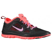 Nike Free 5.0 Tr Fit 4 Schwarz/Hyper Punch/Cool Grau/Lt Magenta Damenschuhe
