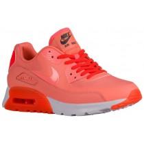 Damen Nike Air Max 90 Ultra Essentials Atomar Rosa/Gesamt Crimson Turnschuhe