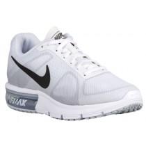 Damen Nike Air Max Sequent Weiß/Cool Grau/Rein Platin/Metallic Dunkel Grau Laufschuhe