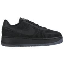 Damen Nike Air Force 1 Low Upstep Br Schwarz/Grau Sportschuheschuhe
