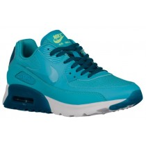 Damen Nike Air Max 90 Ultra Essentials Gamma Blau/Grün Abgrund Turnschuhe