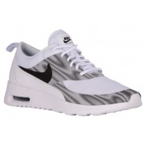 Nike Air Max Thea Frequency Print Damen Running Schuhe Weiß/Schwarz/Cool Grau