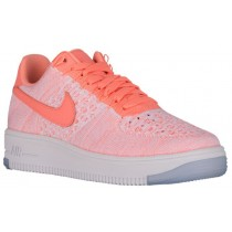 Nike Air Force 1 Low Flyknit Atomisches Rosa Damen Athletic Shoes