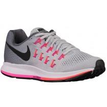 Nike Air Zoom Pegasus 33 Damen Schuhschaft Rein Platin/Cool Grau/Rosa Blast/Schwarz