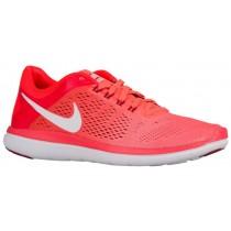 Nike Flex 2016 Rn Hypernational Hell Mango/Hell Crimson/Noble Rot/Weiß Damen Laufschuhe