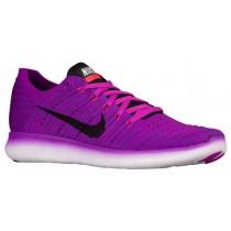 Nike Free Rn Flyknit Hyper Violett/Gesamt Crimson/Laser Orange/Schwarz Damen Trainingsschuhe
