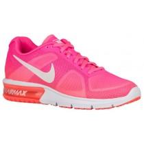 Damen Nike Air Max Sequent Rosa Blast/Hell Mango/Farbig Rosa/Weiß Damen-Laufschuh
