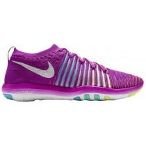 Nike Free Transform Flyknit Hyper Violett/Weiß/Gamma Blau/Hyper Türk Damenschuhe