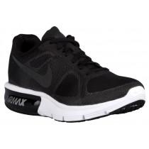 Nike Air Max Sequent Schwarz/Wolf Grau/Weiß/Metallic Hämatit Damen Sneakers