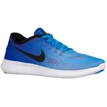 Nike Free Rn Hypernational Blau Glühen/Rennfahrer Blau/Hell Crimson/Schwarz Damensneake
