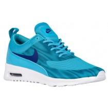 Nike Air Max Thea Frequency Print Damen Laufschuhe Gamma Blau/Dunkel Royal Blau/Weiß/Rio Knickente