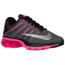 Nike Air Max Excellerate 4 Damen Laufschuhe Dunkel Grau/Metallic Silber/Rosa Blast