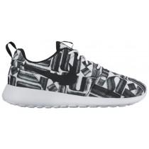 Nike Roshe One Print Rostar Weiß/Schwarz Damen Trainingsschuhe