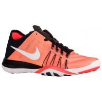 Damen Nike Free Tr 6 Schwarz/Weiß/Gesamt Crimson/Pearl Rosa Laufschuh